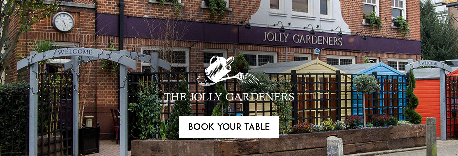Book Your Table at The Jolly Gardeners